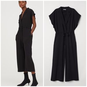 NWT H&M ankle length jump suit with belt